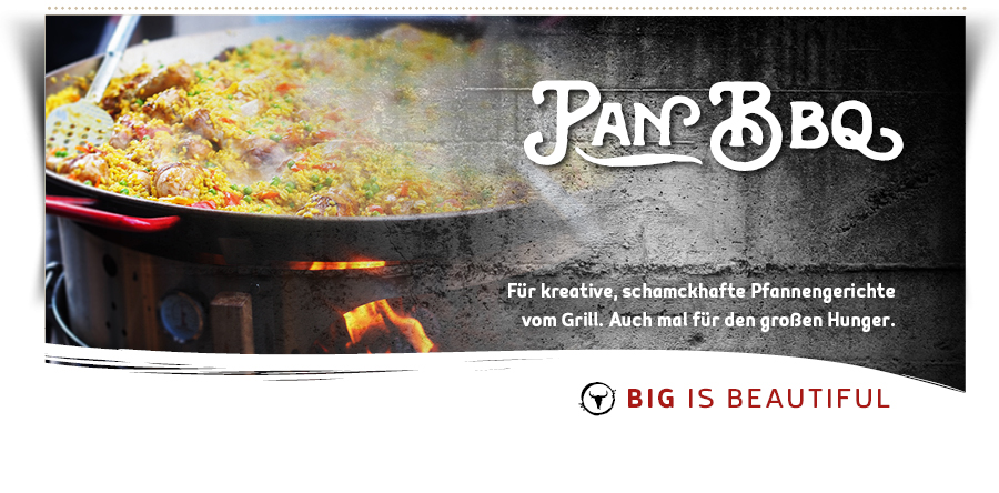 Pan BBQ f�r PizzaRing